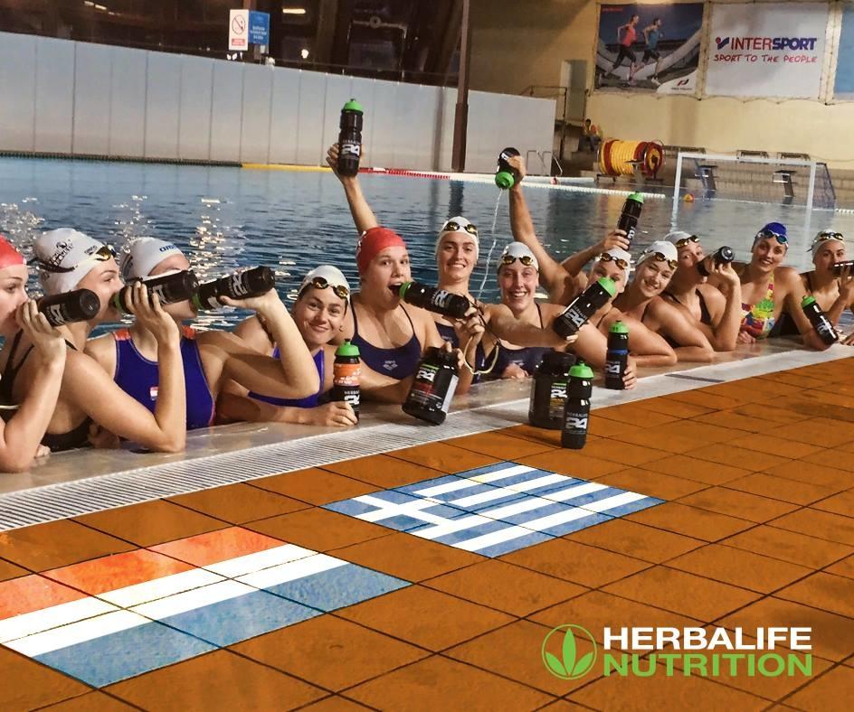Herbalife 24 Sportvoeding NL Waterpolo team